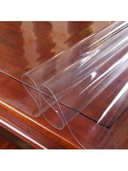 Пленка ПВХ умягченная прозрачная низкой умягченности  20-25 phr